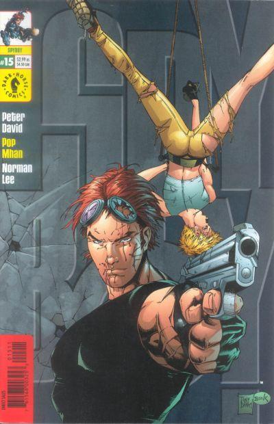 Cover for SpyBoy (Dark Horse, 1999 series) #15 [Tony Danial Cover]
