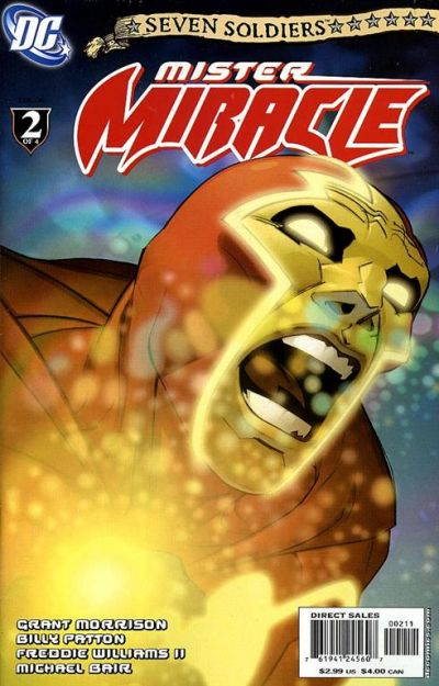 Cover for Seven Soldiers: Mister Miracle (DC, 2005 series) #2