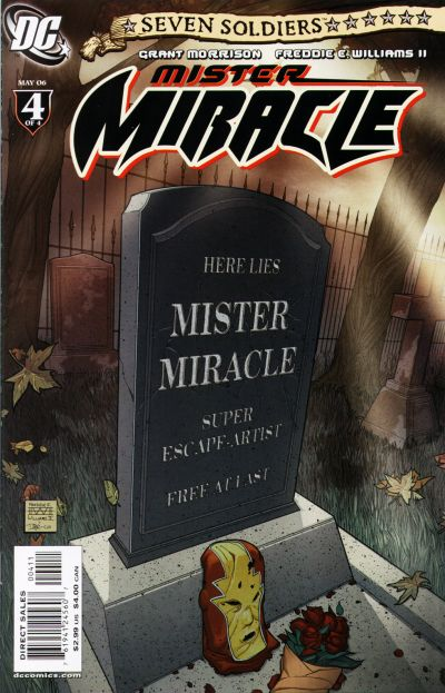 Cover for Seven Soldiers: Mister Miracle (DC, 2005 series) #4