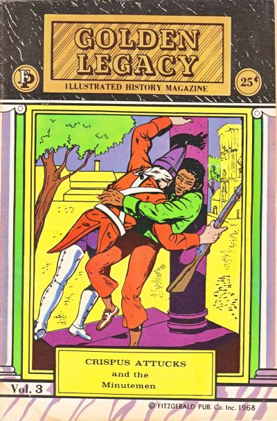 Cover for Golden Legacy (Fitzgerald Publications, 1966 series) #3