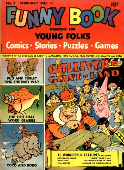 Gcd Issue Funny Book 2