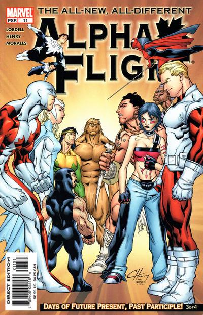 Cover for Alpha Flight (Marvel, 2004 series) #11