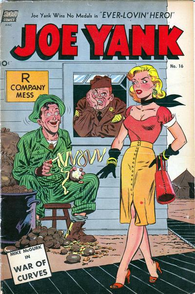 Cover for Joe Yank (Pines, 1952 series) #16