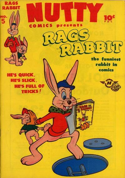 Cover for Nutty Comics (Harvey, 1945 series) #5