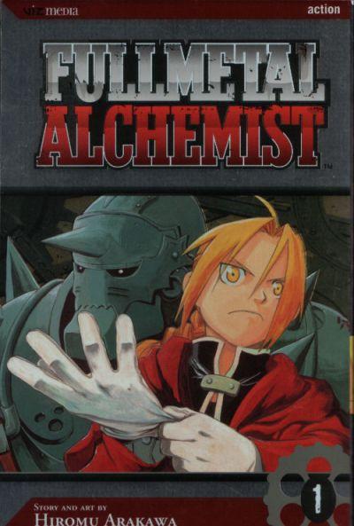 Cover for Fullmetal Alchemist (Viz, 2005 series) #1