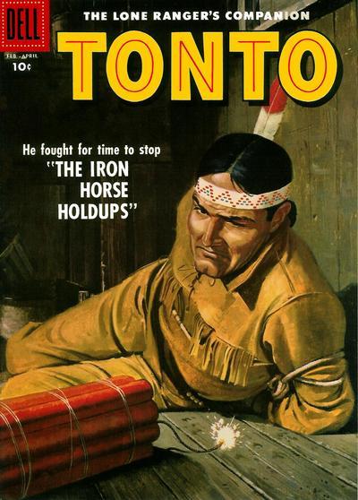 Cover for The Lone Ranger's Companion Tonto (Dell, 1951 series) #26 [15¢ edition]