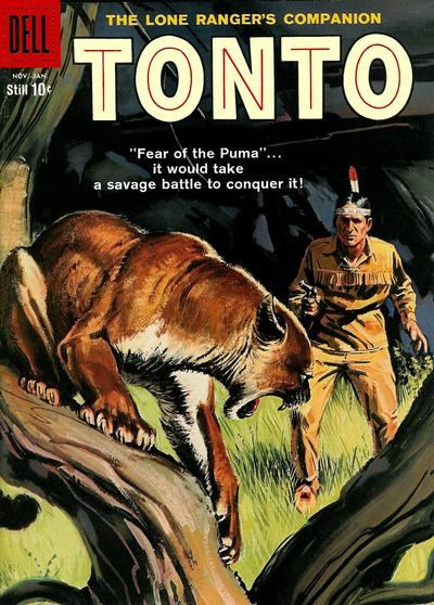 Cover for The Lone Ranger's Companion Tonto (Dell, 1951 series) #33