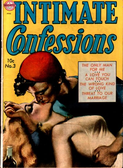 Cover for Intimate Confessions (Avon, 1951 series) #3