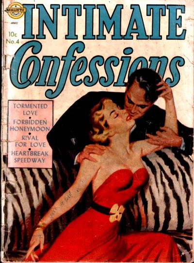 Cover for Intimate Confessions (Avon, 1951 series) #4
