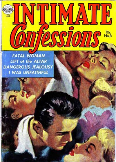 Cover for Intimate Confessions (Avon, 1951 series) #8