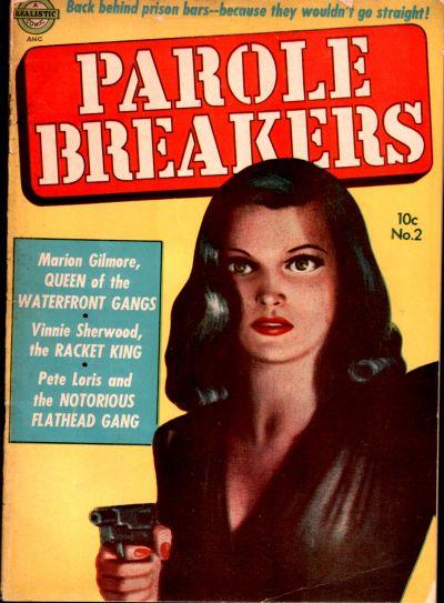 Cover for Parole Breakers (Avon, 1951 series) #2