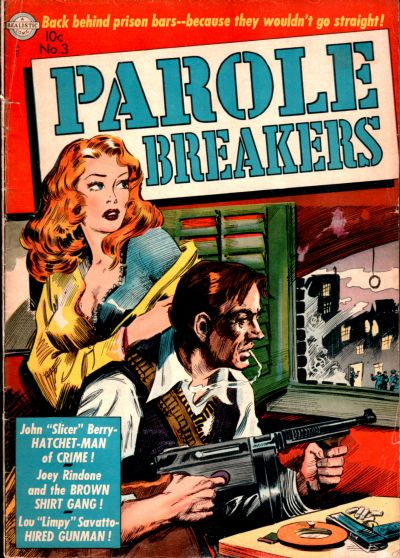 Cover for Parole Breakers (Avon, 1951 series) #3