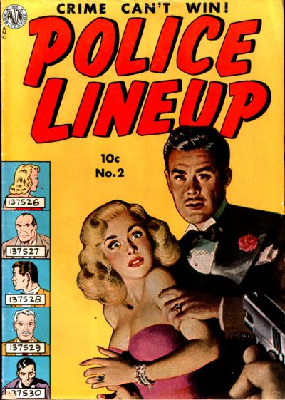 Cover for Police Line-Up (Avon, 1951 series) #2