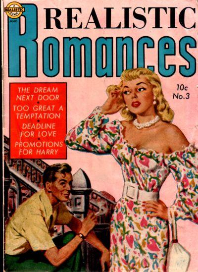 Cover for Realistic Romances (Avon, 1951 series) #3