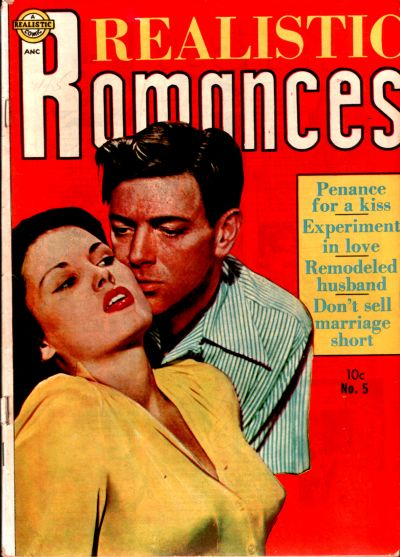 Cover for Realistic Romances (Avon, 1951 series) #5