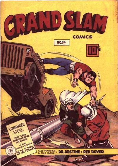 Cover for Grand Slam Comics (Anglo-American Publishing Company Limited, 1941 series) #54