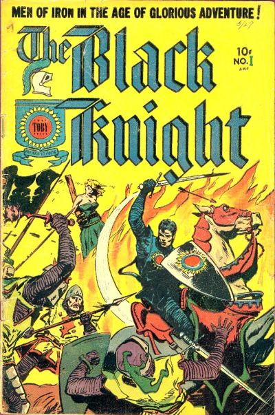 Cover for The Black Knight (Superior Publishers Limited, 1953 series) #1