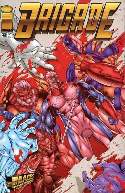 Cover for Brigade (Image, 1993 series) #25