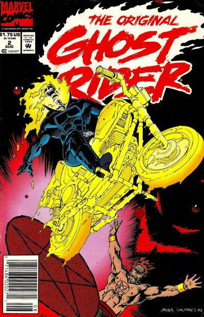 Cover for The Original Ghost Rider (Marvel, 1992 series) #2