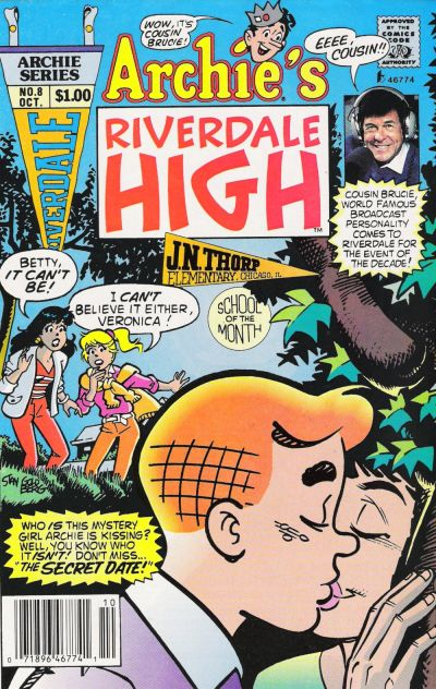 Cover for Archie's Riverdale High (Archie, 1991 series) #8