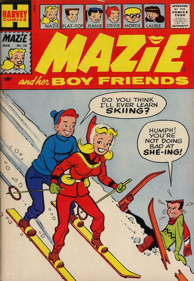 Cover for Mazie (Harvey, 1955 series) #26