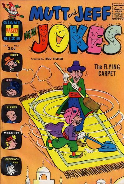 Cover for Mutt & Jeff New Jokes (Harvey, 1963 series) #1