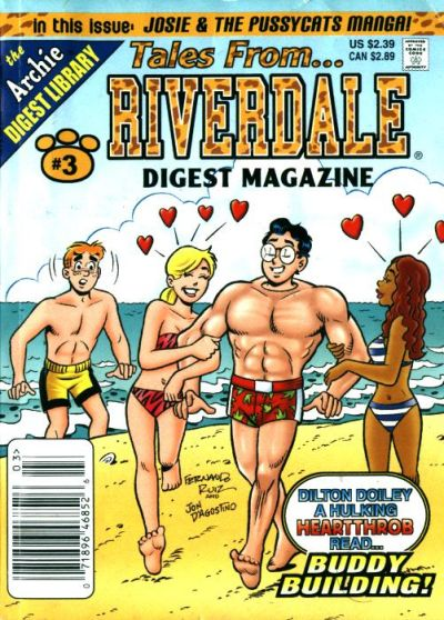 Cover for Tales from Riverdale Digest (Archie, 2005 series) #3