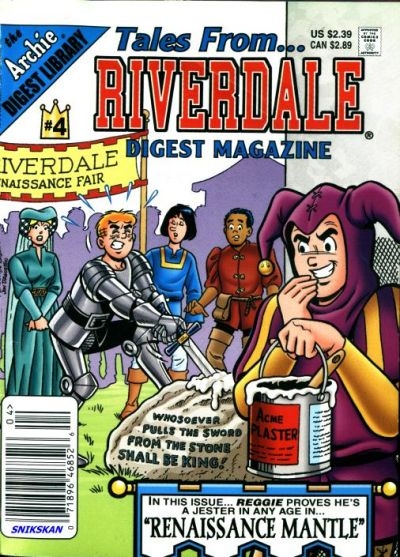 Cover for Tales from Riverdale Digest (Archie, 2005 series) #4