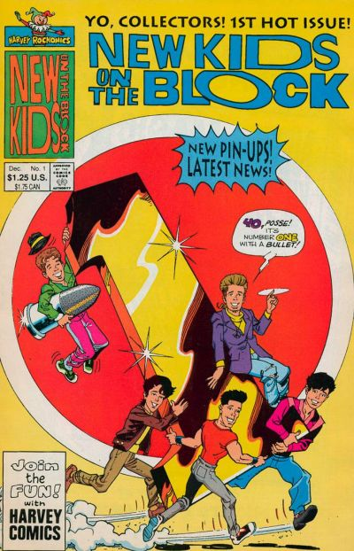 Cover for The New Kids on the Block: NKOTB (Harvey, 1990 series) #1