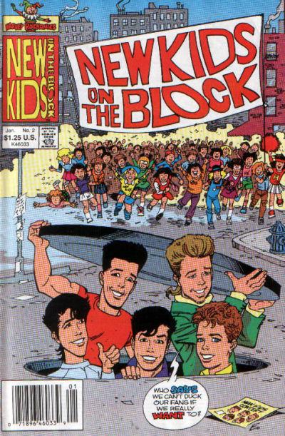 Cover for The New Kids on the Block: NKOTB (Harvey, 1990 series) #2