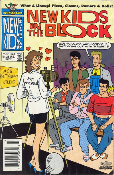 Cover for The New Kids on the Block: NKOTB (Harvey, 1990 series) #5