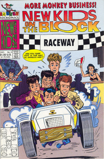 Cover for The New Kids on the Block: NKOTB (Harvey, 1990 series) #8