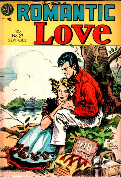 Cover for Romantic Love (Avon, 1954 series) #23