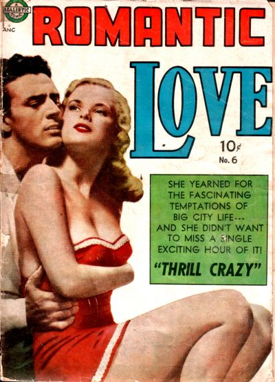 Cover for Romantic Love (Avon, 1949 series) #6