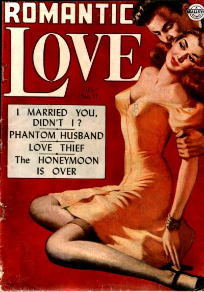 Cover for Romantic Love (Avon, 1949 series) #11