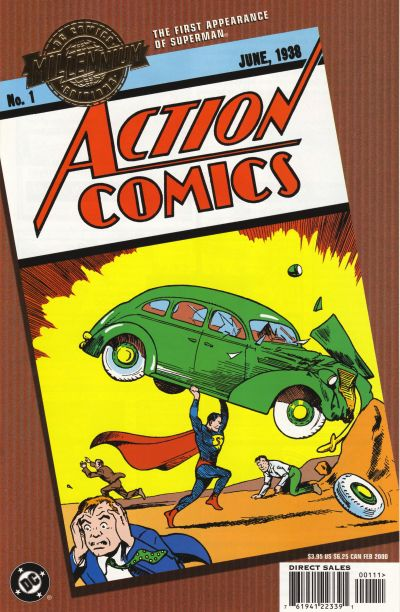 Cover for Millennium Edition: Action Comics 1 (DC, 2000 series)