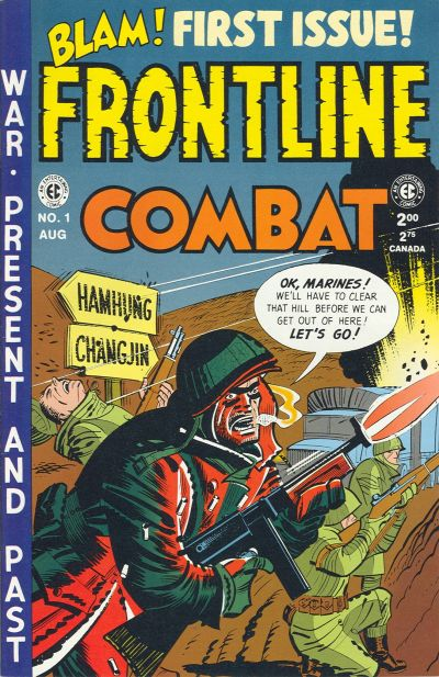 Cover for Frontline Combat (Gemstone, 1995 series) #1