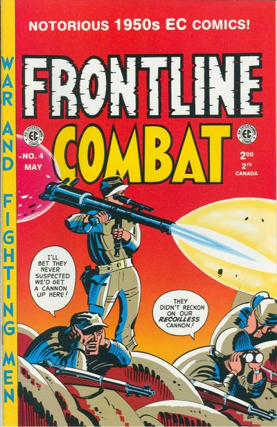 Cover for Frontline Combat (Gemstone, 1995 series) #4