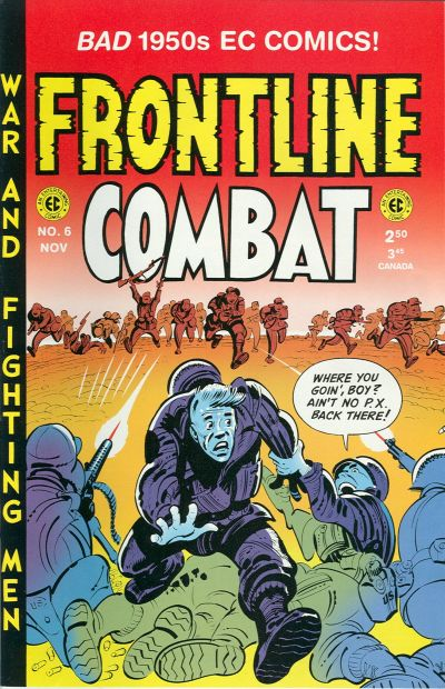 Cover for Frontline Combat (Gemstone, 1995 series) #6