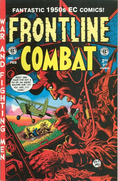 Cover for Frontline Combat (Gemstone, 1995 series) #11