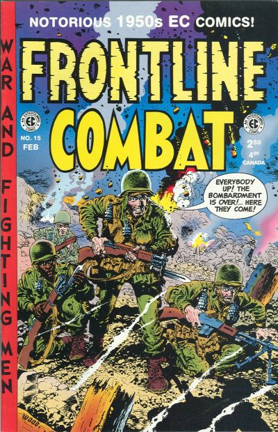Cover for Frontline Combat (Gemstone, 1995 series) #15