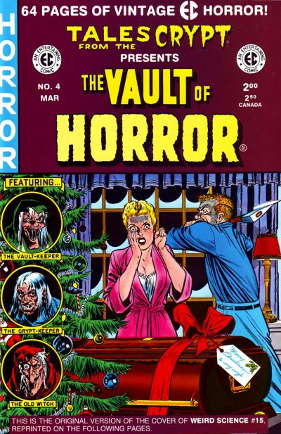 Cover for Vault of Horror (Russ Cochran, 1991 series) #4