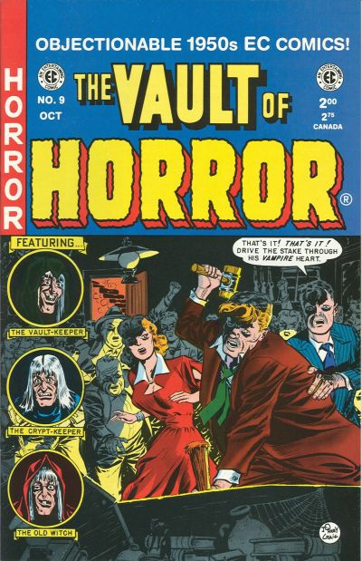 Cover for Vault of Horror (Gemstone, 1994 series) #9