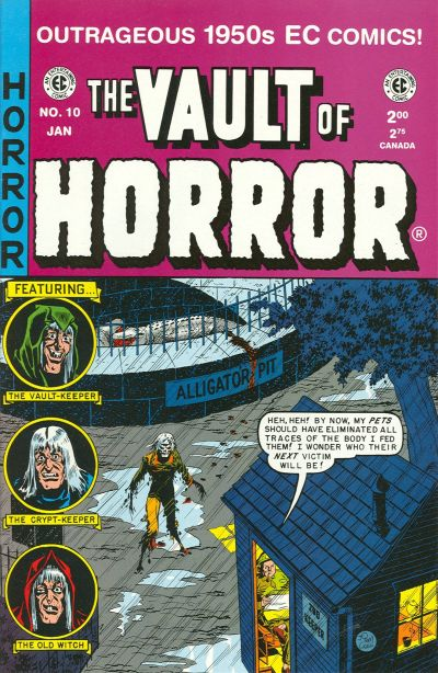Cover for Vault of Horror (Gemstone, 1994 series) #10