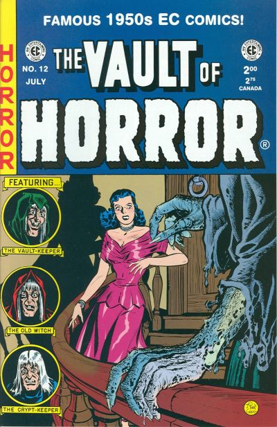 Cover for Vault of Horror (Gemstone, 1994 series) #12
