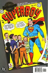 Cover Thumbnail for Millennium Edition: Superboy No. 1 (DC, 2001 series)