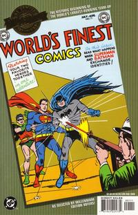 Cover Thumbnail for Millennium Edition: World's Finest No. 71 (DC, 2000 series)