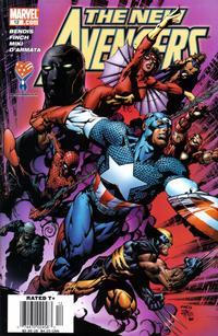 Cover Thumbnail for New Avengers (Marvel, 2005 series) #12 [Newsstand]