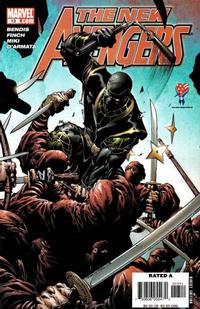 Cover Thumbnail for New Avengers (Marvel, 2005 series) #13 [Direct Edition]