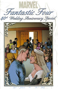 Cover for Fantastic Four: The Wedding Special (Marvel, 2006 series) #1